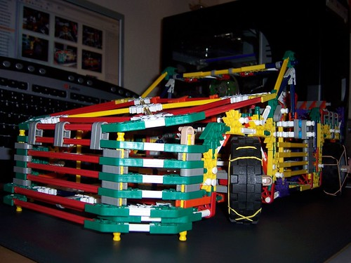 K Nex Car Front At Night Features The Custom Wheels I