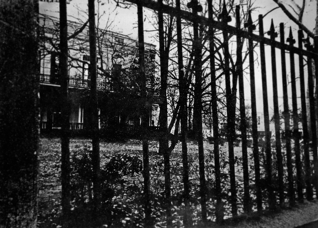 Iron Fence, Augusta, Georgia, 1970s