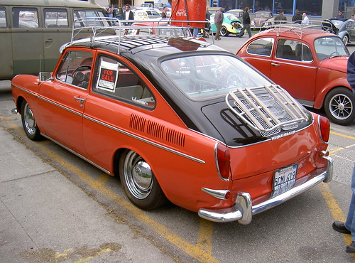 1965 vw type 3 fastback custom volks authority bbq san jo flickr