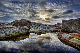 Tide Pool Refection | by DARREN ST0NE