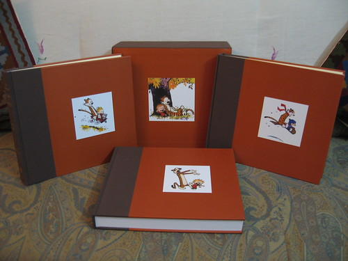 The Complete Calvin & Hobbes Collector's Edition Bookset - Open | by kushwaha