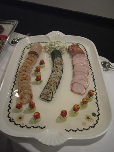 garde manger buffet turkey platter matthew fernandez flickr. Black Bedroom Furniture Sets. Home Design Ideas