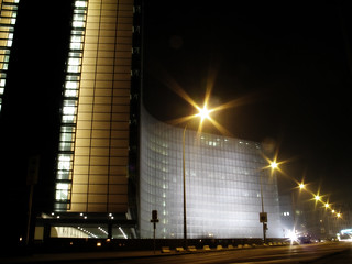European Commission At Night | by clappstar