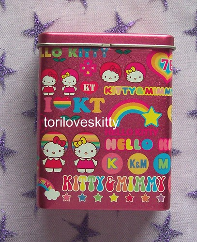 Hello Kitty & Mimmy tin | by toriloveskitty