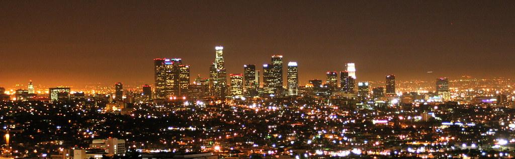 los angeles skyline view - photo #25