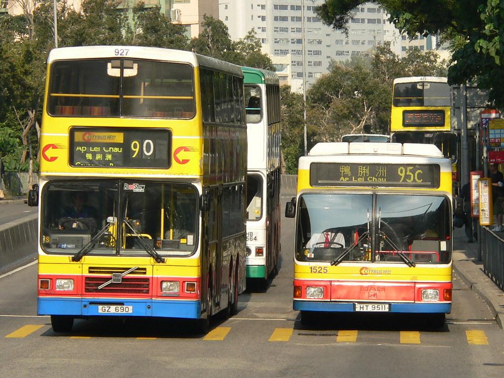 Hong Kong (香港) - Public Transport (公共交通) - Citybus (城巴 ...