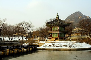 Gyeongbukgung Palace Pond | by parhessiastes