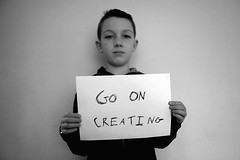 Go on creating | by fotologic