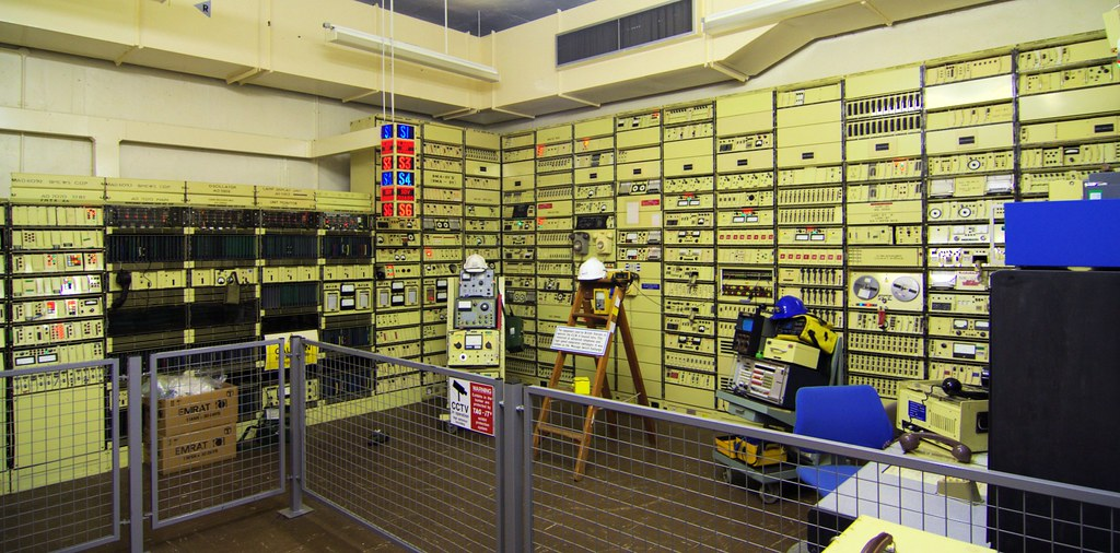 Hack Green Nuclear Bunker Comms Room