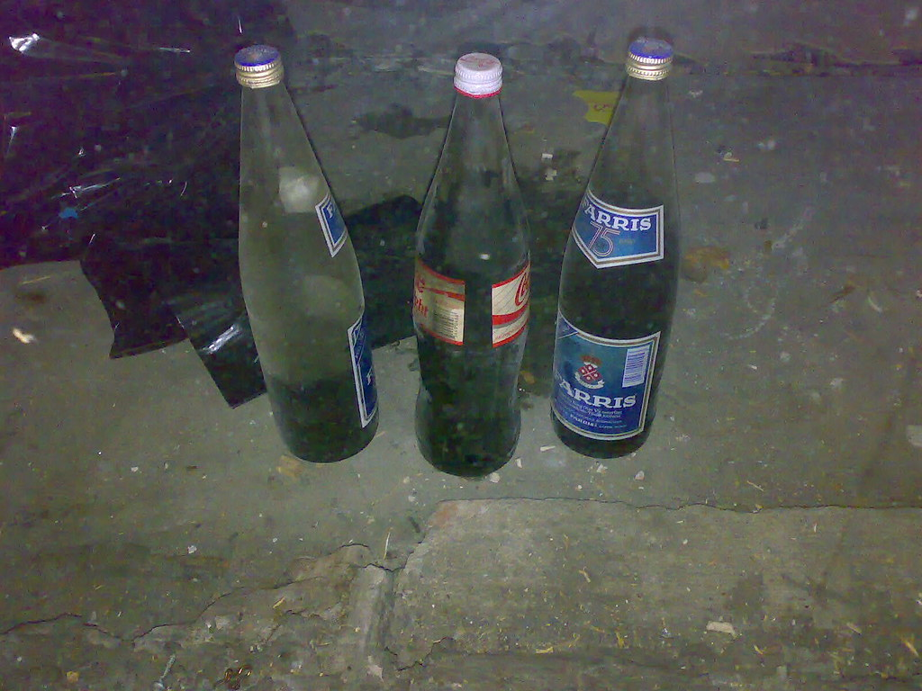 Dating gamle brus flasker