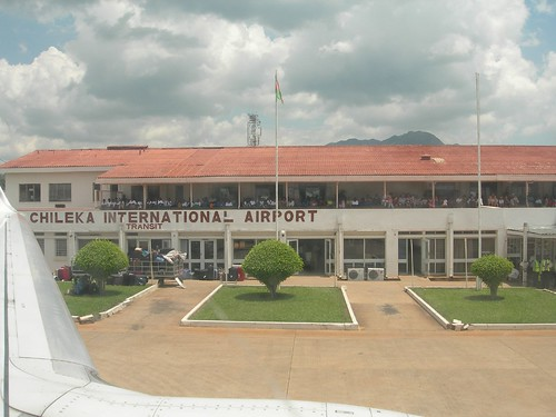 Аэропорт БлантайрЧилека (Blantyre Chileka International Airport).