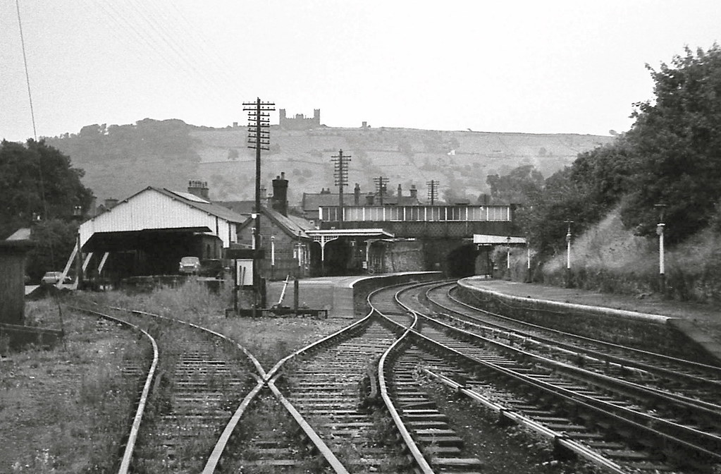 Matlock Station Derbyshire August 1969 The Line North