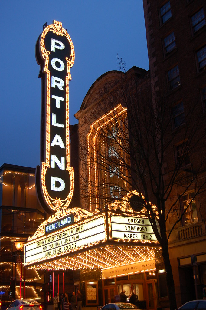 Portland OR The Arlene Schnitzer Concert Hall Is A Histor Flickr - Schnitzer theater portland