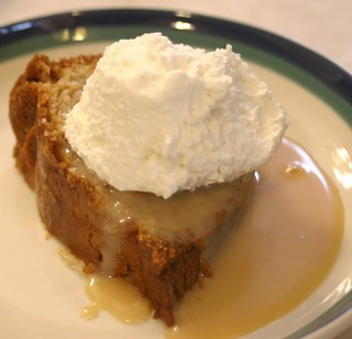 Kerry Apple Cake With Caramel Irish Cream Sauce And Whipped Cream | by Dianne's Dishes