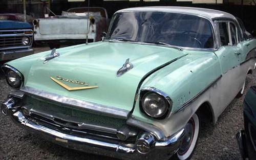 "57 Chevy Chevrolet Bel Air 1957   Automovil Chevrolet Bel Air ""57 ..."