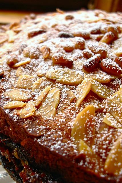 Fruit Cake Marzipan Centre