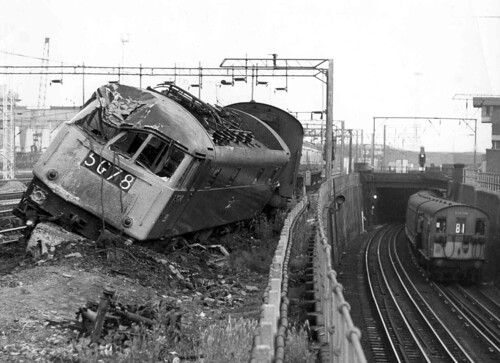 Willesden Junction Train Crash Loco That Ran Out Of