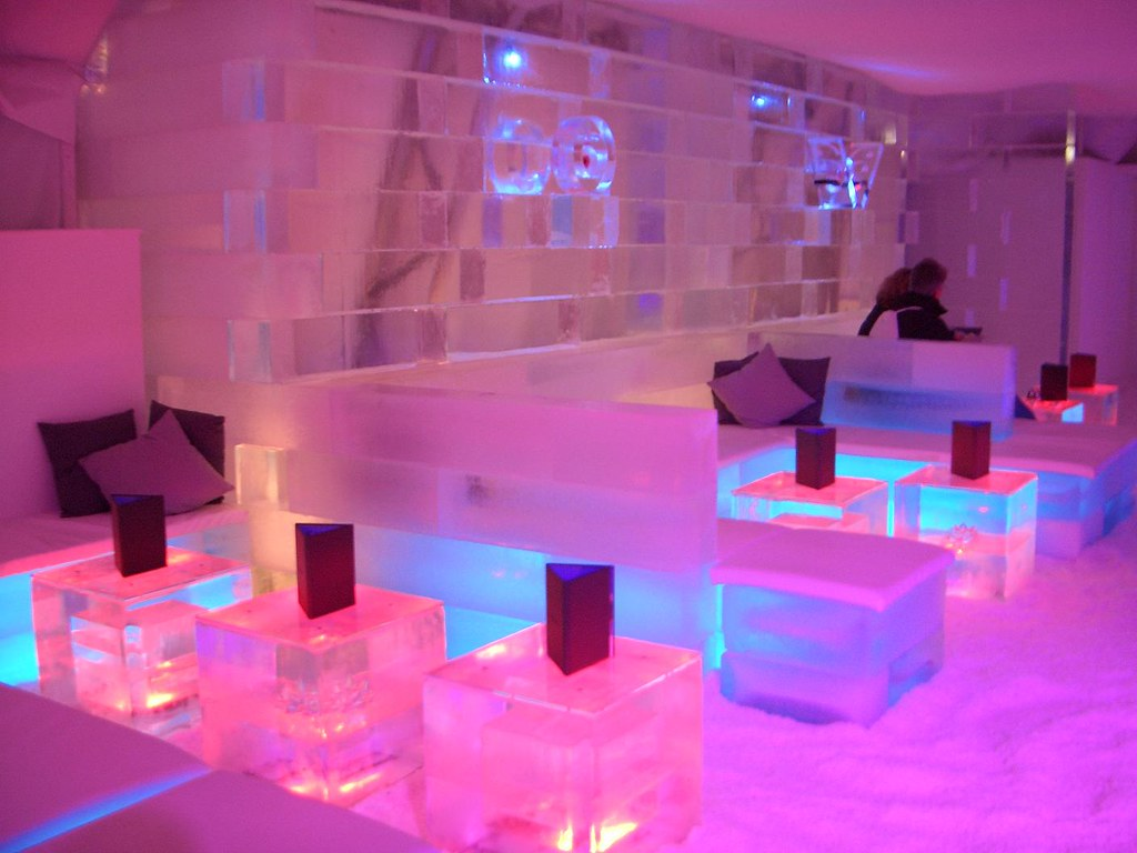 Ice bar london martin flickr for Design hotel tessin