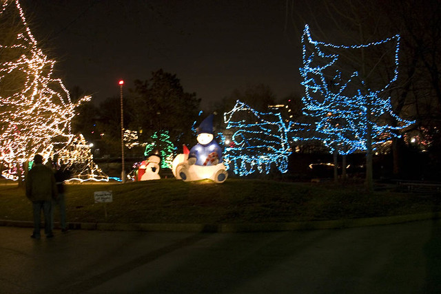 christmas lights st louis zoo 2 by fotobydave - Christmas Lights St Louis
