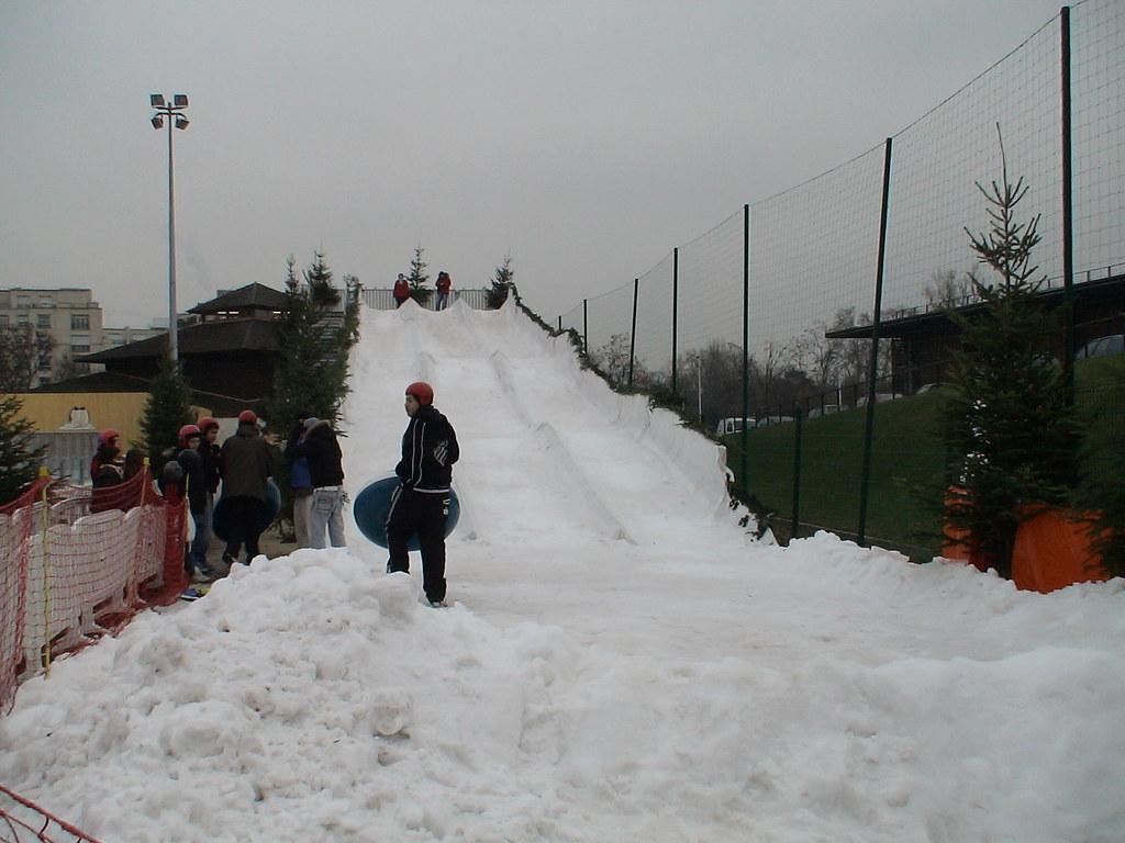 Puteaux ile de puteaux puteaux en neige 2006 la for Piscine ile de puteaux