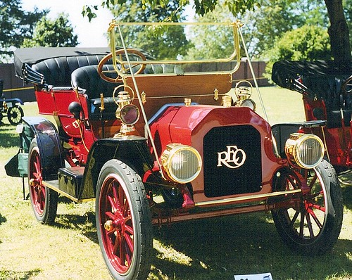 Reo Car: REO: Greenfield Village Old Car Festival