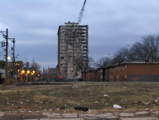 Demolition of the Robert Taylor HomesRobert Taylor Homes