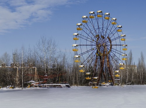 The Dead Ferris Wheel of Chernobyl | by Stuck in Customs
