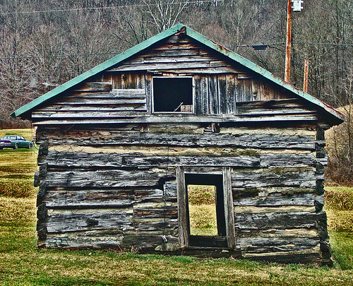 Pioneer Log Cabin Build In The 1800 39 S Along Carrs Run