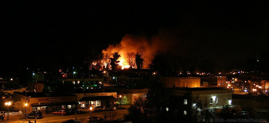 University Ridge Fire University Ridge Fire Clemson