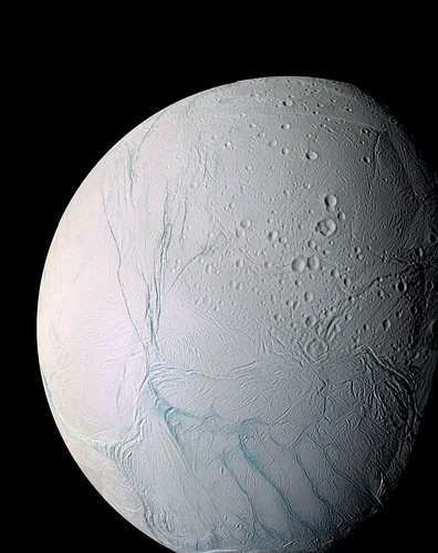 Enceladus, a moon of Saturn | by thane