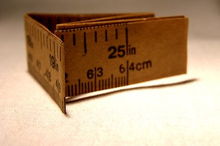 Tape measure from Christmas cracker | by Auntie P