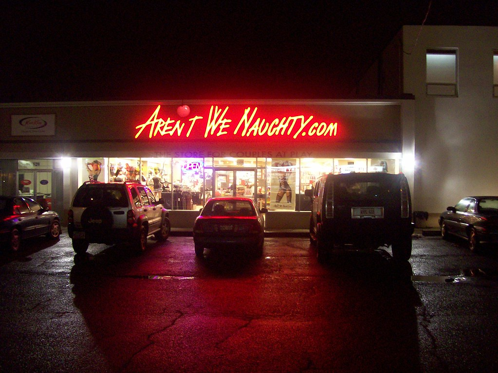 The Arent We Naughty Sex Shop Erm Adult