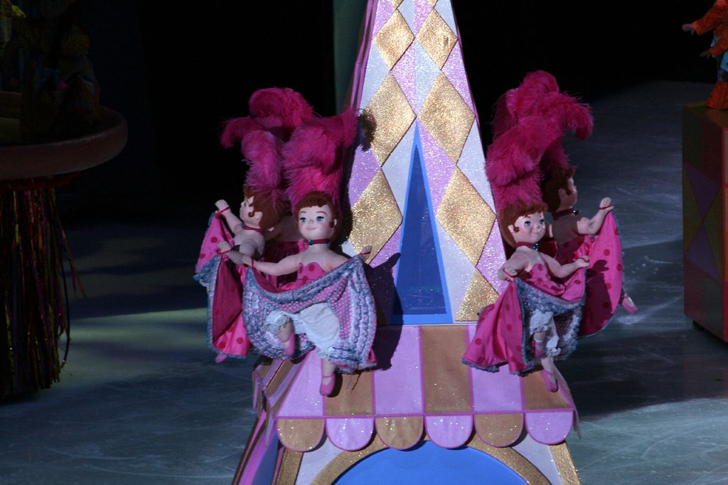 Its A Small World French Can Can Dancers This Photograph
