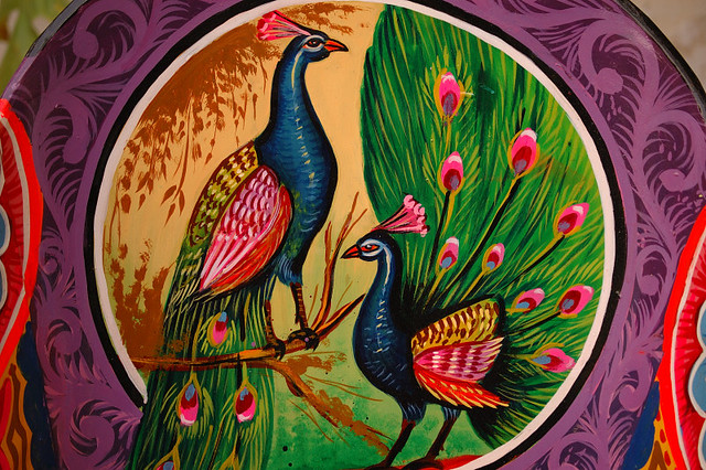 Truck Art - Motif | Peacocks symbolize many things to the dr… | Flickr