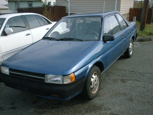 1989 toyota tercel open toed terry slippers flickr. Black Bedroom Furniture Sets. Home Design Ideas