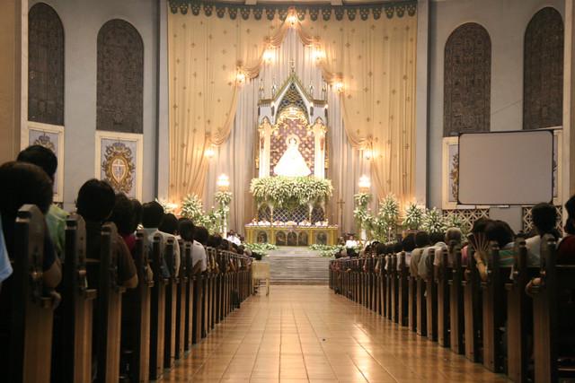 Stodomingo Churchquezon City Philippines Mass Celebratin Flickr