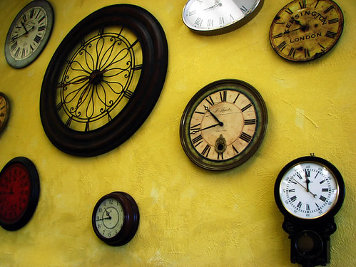 Wall of Clocks | by rustman