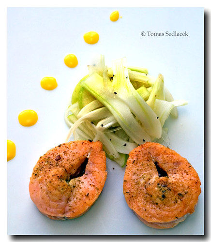 how to cook salmon darnes