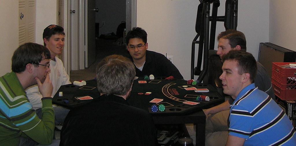 Kitchens poker term