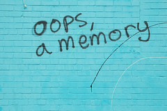 oops, a memory | by limonada