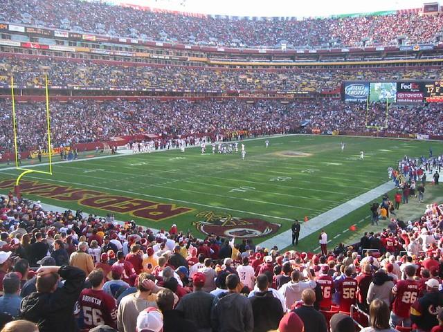 Washington Redskins Stadium Crab Cake
