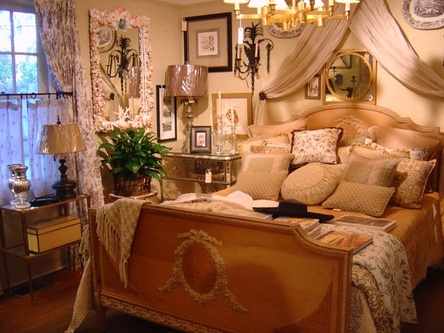 Fashion Inspired Guest Room: A French Country Style Guest Bedroom