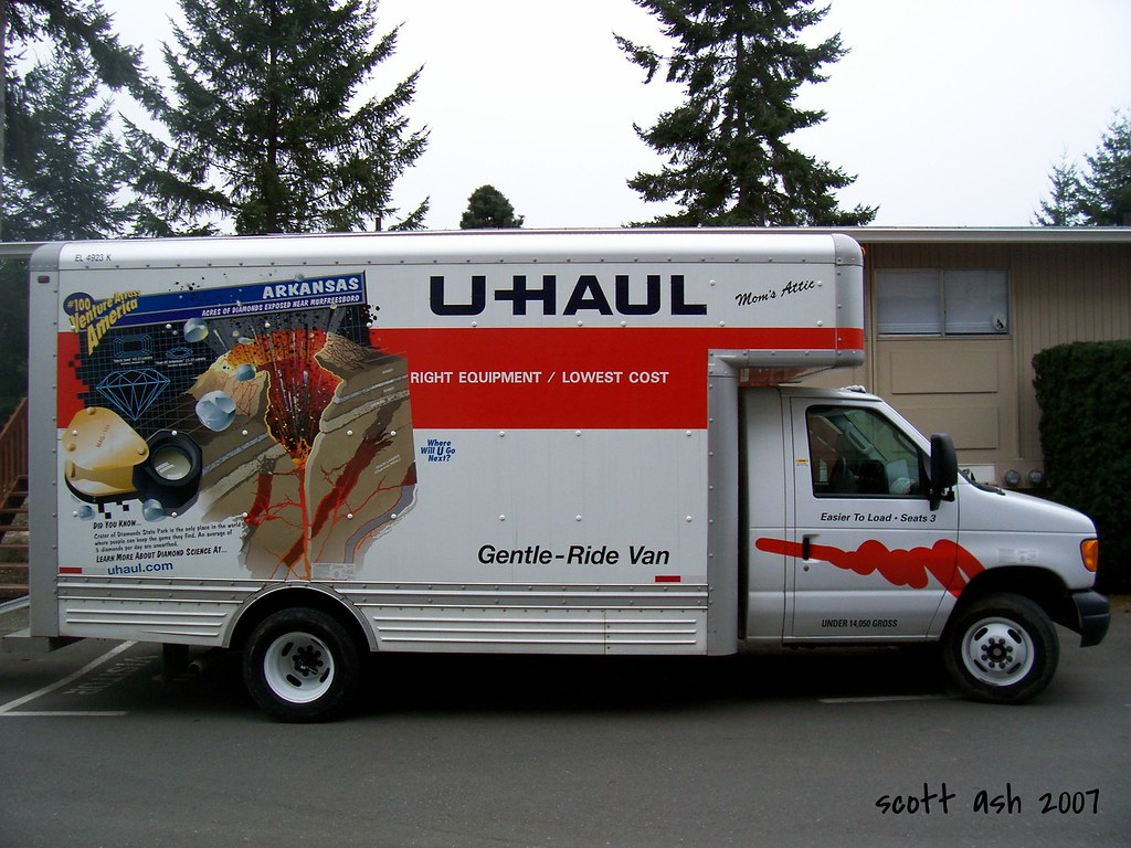 U Haul The U Haul We Rented To Move Our Stuff To Our New