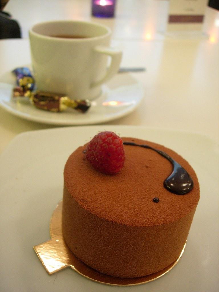 Chocolate Cake Piece Images