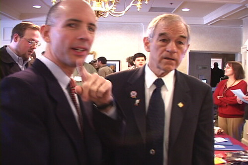 Ron Paul and Kent Snyder | by Ron Paul