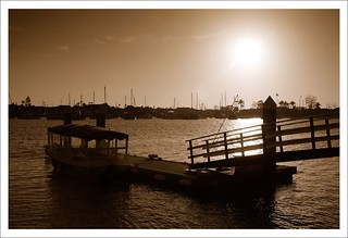 Sunset at Balboa Island | by Herman Au - http://www.hermanau.com
