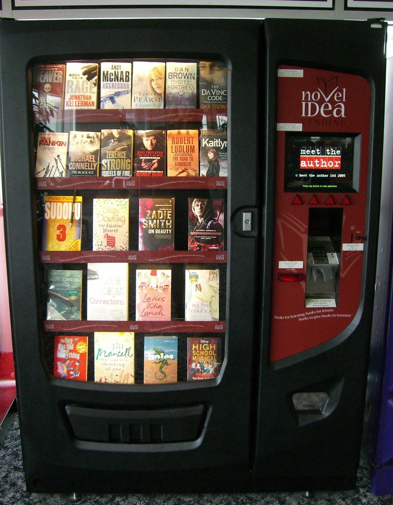 Book Vending Machine Gatwick Airport Wordridden Flickr