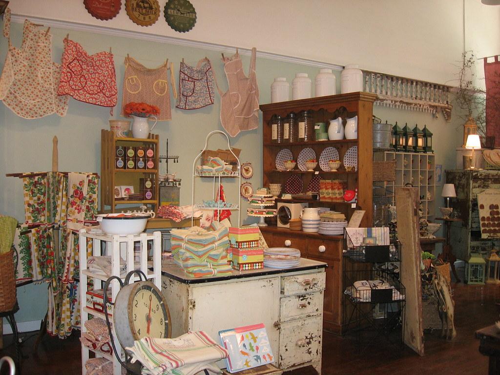 Vintage Kitchen Goods | @ Home Vintage General Store | Flickr