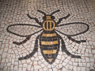 Busy Manchester Mosaic Bee | by dullhunk