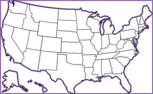 Outline Map Of The USA This Map Is For TLTGroup Workshop Flickr - Outline of usa map